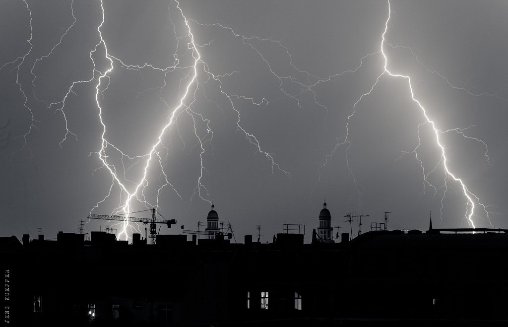 Thunderstorm over Berlin, 2015
