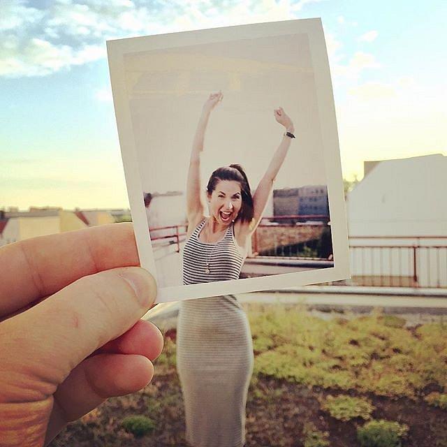 iPhone meets Polaroid